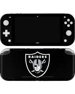 Oakland Raiders Large Logo Nintendo Switch Lite Skin