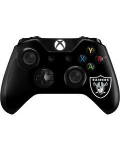 Las Vegas Raiders Large Logo Xbox One Controller Skin