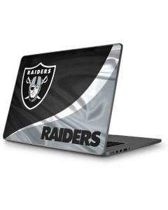 Oakland Raiders Apple MacBook Pro 17-inch Skin
