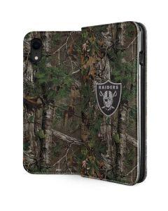 Las Vegas Raiders Realtree Xtra Green Camo iPhone XR Folio Case