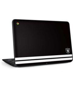 Las Vegas Raiders Shutout HP Chromebook Skin