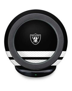Las Vegas Raiders Shutout Fast Charge Wireless Charging Stand Skin