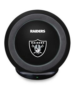 Las Vegas Raiders Team Jersey Fast Charge Wireless Charging Stand Skin