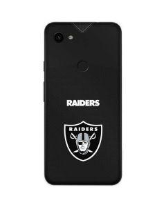 Las Vegas Raiders Team Jersey Google Pixel 3a Skin