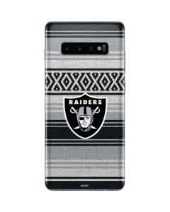 Las Vegas Raiders Trailblazer Galaxy S10 Plus Skin