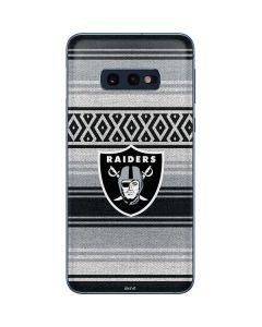 Las Vegas Raiders Trailblazer Galaxy S10e Skin