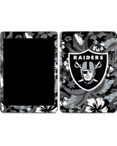 Las Vegas Raiders Tropical Print Apple iPad Skin