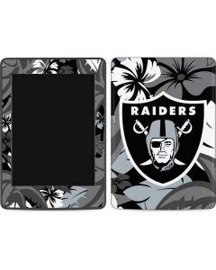 Las Vegas Raiders Tropical Print Amazon Kindle Skin