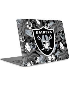Las Vegas Raiders Tropical Print Apple MacBook Air Skin