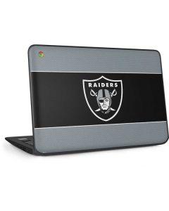 Las Vegas Raiders Zone Block HP Chromebook Skin