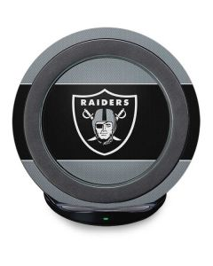 Las Vegas Raiders Zone Block Fast Charge Wireless Charging Stand Skin