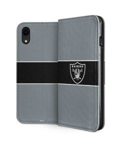 Las Vegas Raiders Zone Block iPhone XR Folio Case