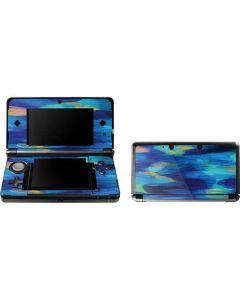 Ocean Blue Brush Stroke 3DS (2011) Skin