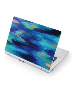 Ocean Blue Brush Stroke Acer Chromebook Skin