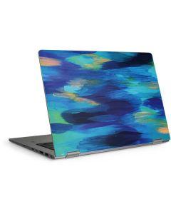 Ocean Blue Brush Stroke HP Elitebook Skin