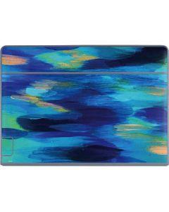 Ocean Blue Brush Stroke Galaxy Book Keyboard Folio 12in Skin