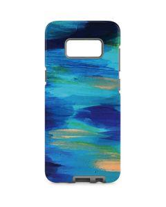 Ocean Blue Brush Stroke Galaxy S8 Pro Case