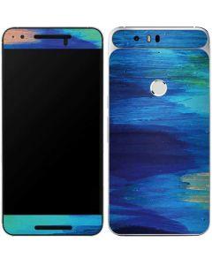 Ocean Blue Brush Stroke Google Nexus 6P Skin