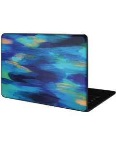 Ocean Blue Brush Stroke Google Pixelbook Go Skin