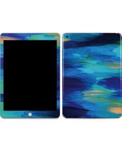 Ocean Blue Brush Stroke Apple iPad Skin