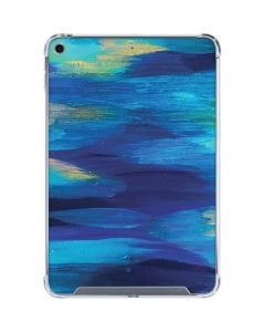 Ocean Blue Brush Stroke iPad Mini 5 (2019) Clear Case