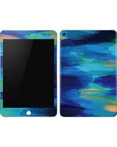 Ocean Blue Brush Stroke Apple iPad Mini Skin