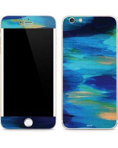 Ocean Blue Brush Stroke iPhone 6/6s Plus Skin