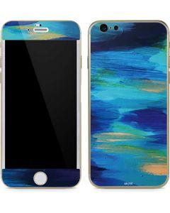 Ocean Blue Brush Stroke iPhone 6/6s Skin