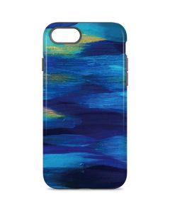 Ocean Blue Brush Stroke iPhone 8 Pro Case