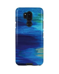 Ocean Blue Brush Stroke LG G7 ThinQ Pro Case