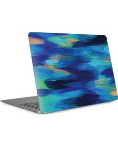 Ocean Blue Brush Stroke Apple MacBook Air Skin