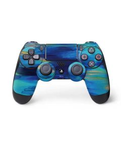 Ocean Blue Brush Stroke PS4 Pro/Slim Controller Skin
