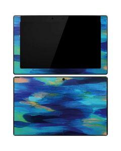 Ocean Blue Brush Stroke Surface RT Skin
