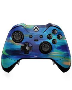 Ocean Blue Brush Stroke Xbox One Elite Controller Skin