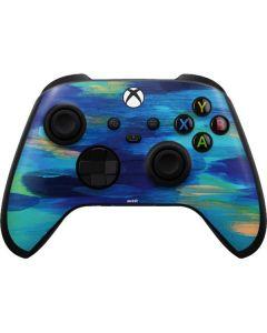 Ocean Blue Brush Stroke Xbox Series X Controller Skin