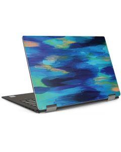 Ocean Blue Brush Stroke Dell XPS Skin