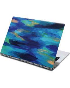 Ocean Blue Brush Stroke Yoga 910 2-in-1 14in Touch-Screen Skin