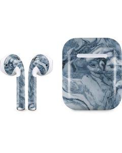 Ocean Blue Marble Apple AirPods Skin