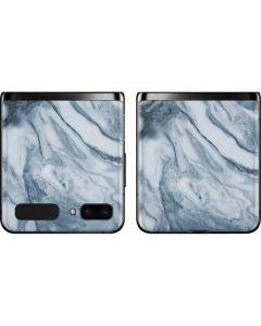Ocean Blue Marble Galaxy Z Flip Skin
