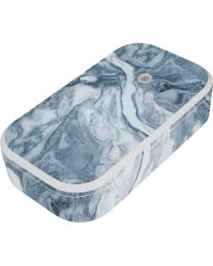 Ocean Blue Marble UV Phone Sanitizer and Wireless Charger Skin