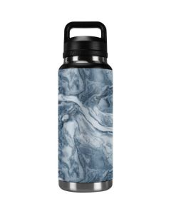 Ocean Blue Marble YETI Rambler 36oz Bottle Skin