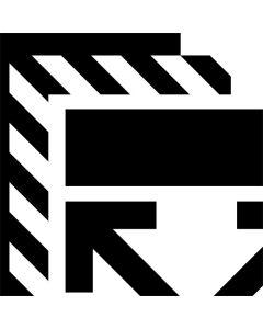 Black and White Geometric Shapes One X Skin