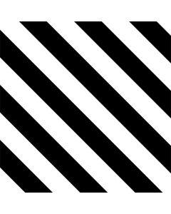 Black and White Geometric Stripes One X Skin