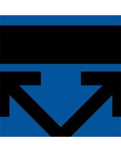 Black and Blue Arrows LifeProof Nuud iPhone Skin