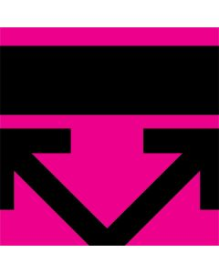 Black and Pink Arrows One X Skin