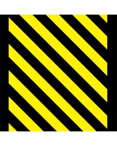 Black and Yellow Stripes One X Skin