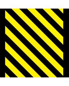 Black and Yellow Stripes LifeProof Nuud iPhone Skin