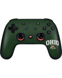 Ohio Bobcats Google Stadia Controller Skin