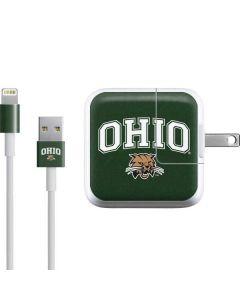 Ohio Bobcats iPad Charger (10W USB) Skin