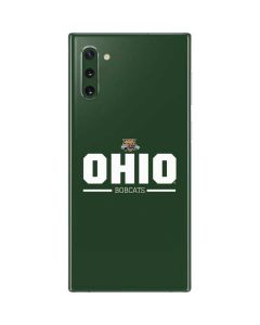 Ohio Bobcats Logo Galaxy Note 10 Skin